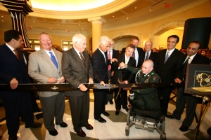 The official ribbon cutting for Waldorf Astoria Orlando