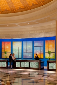 Cassandria Blackmore Art at Front Desk of Waldorf Astoria Orlando