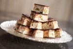 Chocolate Nougat with pistachio