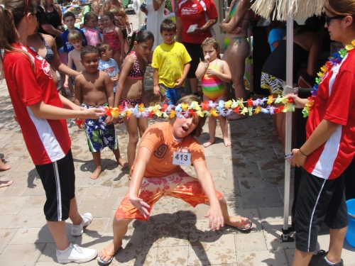 Limbo at the Radio Disney Pool Party during Hilton Orlando Bonnet Creek SummerBlast!