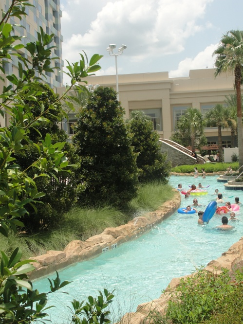 Hilton Orlando Bonnet Creek lazy river
