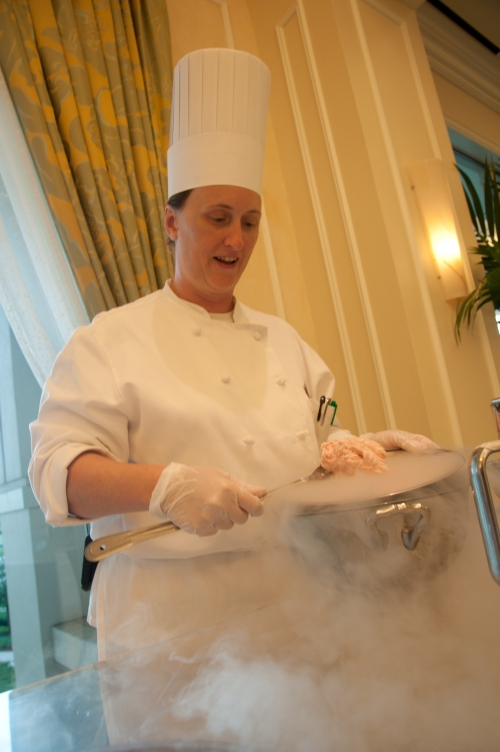 Weird Science? Smoking nitrogen ice cream at Waldorf Astoria Orlando