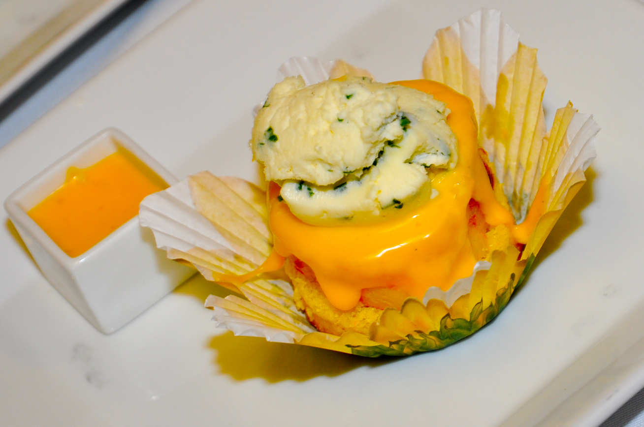 New Spin on a Familiar Favorite: Savory Cupcakes
