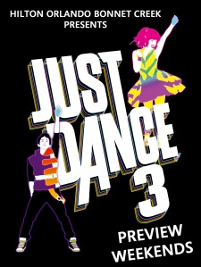 Just Dance 3 Preview Weekends in Orlando