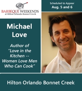 Barbecue chefs for Hilton Orlando Bonnet Creek barbeque weekends - Chef Michael Love