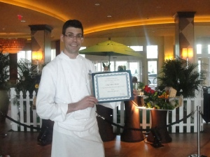 Chef Alex Olivier of Harvest Bistro