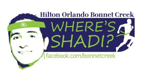 Walt Disney World Marathon Where's Shadi Social Media Promotion